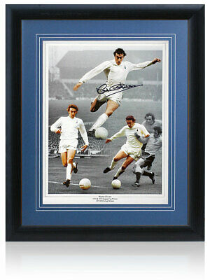 Martin Chivers hand signed 16x12 Tottenham Hotspur Montage AFTAL Photo Proof COA