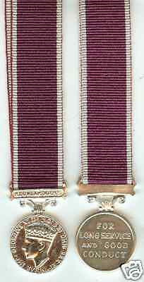 Miniature Medal - Army Long Service & Good Conduct GV1