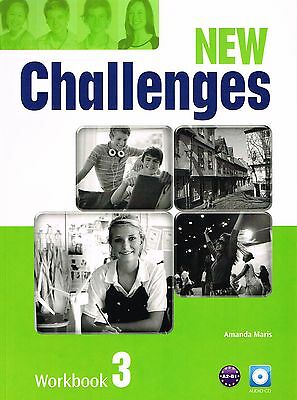 Pearson NEW CHALLENGES 3 Workbook with AUDIO CD Level A2-B1 @BRAND NEW@
