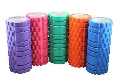 Foam Roller Point Muscle Body Massage Therapy Deep Tissue Pilates Yoga Rollers