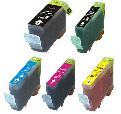 5 PK Ink Cartridges Compatible with Canon PGI-225 CLI-226 MG5320 MG5220 MX882