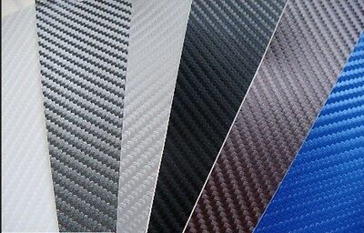 3D Carbon Fibre Vinyl Wrap (Air/Bubble Free) All Colours All sizes