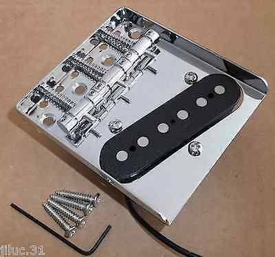 NEW Bridge + pickup TELECASTER  3 saddles pour Fender