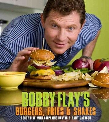 Bobby Flay's Burgers, Fries, & Shakes by Bobby Flay Hardcover Book (English)