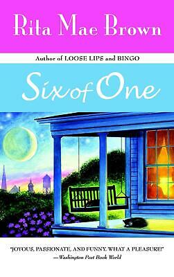 Six of One by Rita Mae Brown (English) Paperback Book Free Shipping!