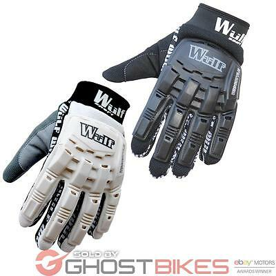 Wulfsport Wiggstyle Mx Off Road Mtb Enduro Bike Armoured Wulf Motocross Gloves