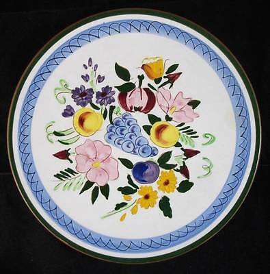 Stangl FRUIT AND FLOWERS Dinner Plate LIGHT USE
