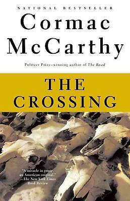 The Crossing by Cormac McCarthy (English) Paperback Book Free Shipping!