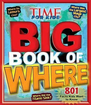 Time For Kids Big Book Of Where -  (Hardcover) New