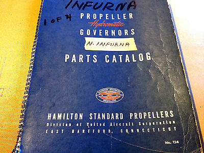 Hamilton Standard Hydromatic Propeller Governors Parts Manual