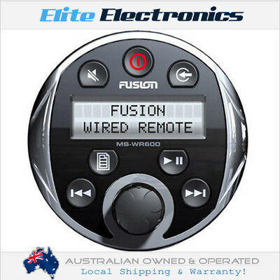 Fusion Ms-Wr600C Marine Wired Remote Control For Ms-Ip600G Ms-Cd600G Ms-Ra200