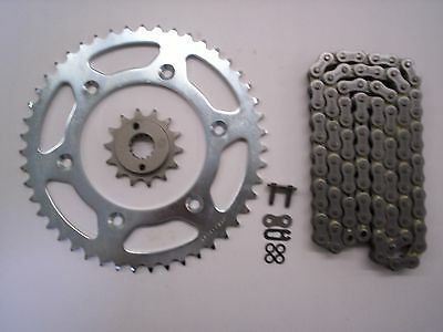 Honda Crf250X Crf250 X Sprocket 14/53 & Ek Sro-6 O-Ring Chain Set 2004-2006 Slv