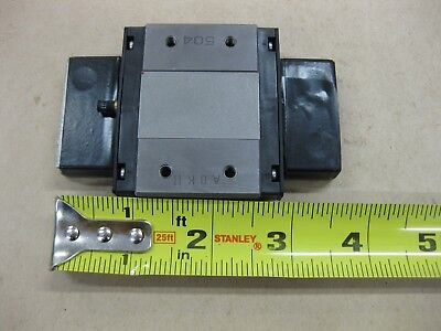 """THK Linear Guide LM Rail Carriage Bearing Block 3.75"""" 95mm Low Profile RSR15WVM"""