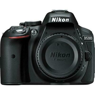 Nikon D5300 Digital SLR Camera - Black