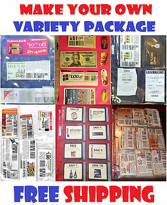 20 EXTREME COUPON SLEEVE Binder Organizer Pages - Your Choice! Pick 20!!