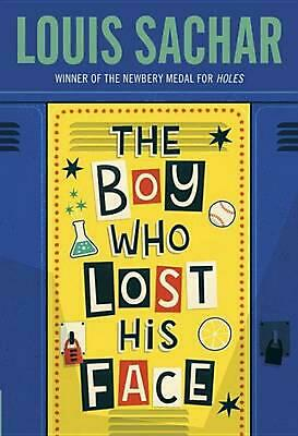The Boy Who Lost His Face by Louis Sachar (English) Paperback Book Free Shipping