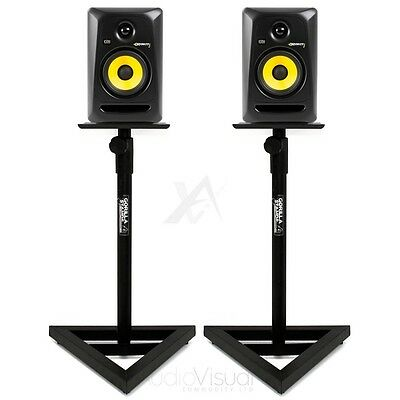 Studio Monitor Stands - Gorilla GSM-100 Adjustable Hi-Fi / Studio Speaker Stands