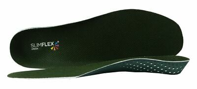 Slimflex Green Original Orthotic Insoles | Full Length  | Comfort & Support