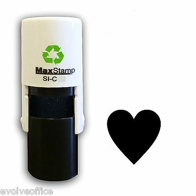 Loyalty Card Stamp Professional Quality Self Inking with a Heart image