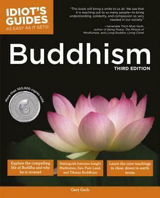 The Complete Idiot's Guide to Buddhism by Gary Gach (English) Paperback Book Fre