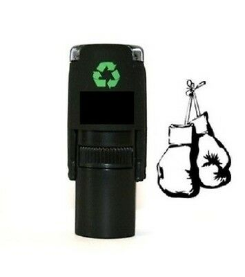 Loyalty Card Stamp Professional Quality Self Inking with Boxing Glove image