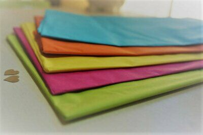 10 Sheets Coloured Tissue Paper ~ You Choose ~ *Gift Wrap *Decorations