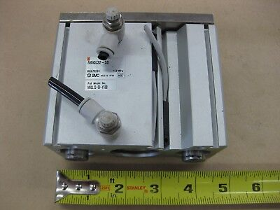 SMC Guided Pneumatic Air Cylinder Actuator Quick Connects MQQL32-50 Y59B Japan