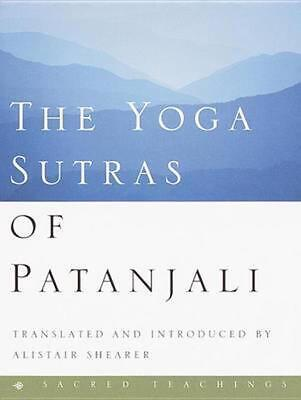 The Yoga Sutras of Patanjali by Pataanjali Hardcover Book (English)