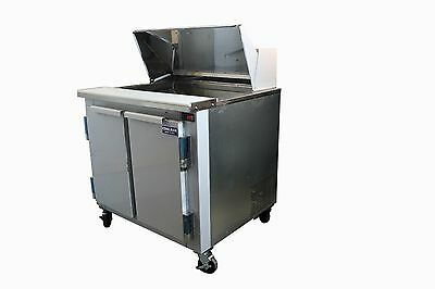"""Coolman Commercial Refrigerated Sandwich Prep Table 36"""""""