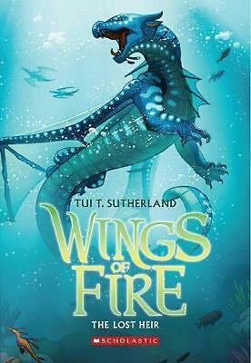 Wings of Fire #2: The Lost Heir by Tui T. Sutherland (English) Paperback Book Fr