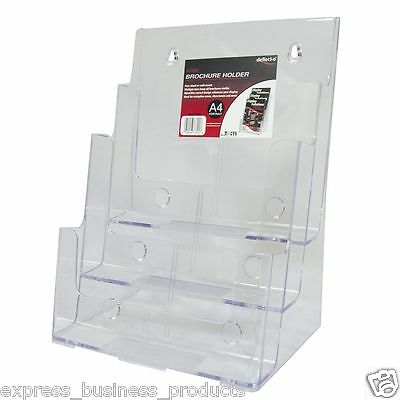 3 Tier Brochure Holder A4 Portrait - JP77301