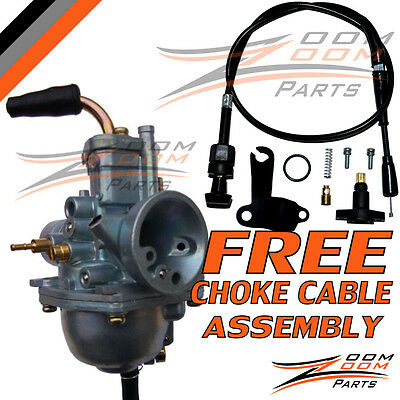 Carburetor Polaris Sportsman 90 Manual Choke Cable 2001-2006 With Free Cable New