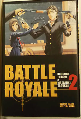 BATTLE ROYALE  2 (Taguchi /Takami ) Soleil Manga, Vends  autres BATTLE ROYALE