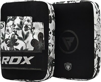 RDX Leather Speed Ball & Swivel Boxing Punch Bag MMA Punching Training Pear Set