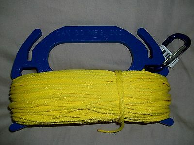Heavy Duty Indestructible Scuba  Reel 150 Ft. 3/16 diameter line. Made in USA
