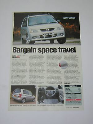 Mazda Demio 1.3 LXi Road Test from 2000