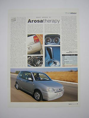 SEAT Arosa 3L - First Look Road Test from 2000