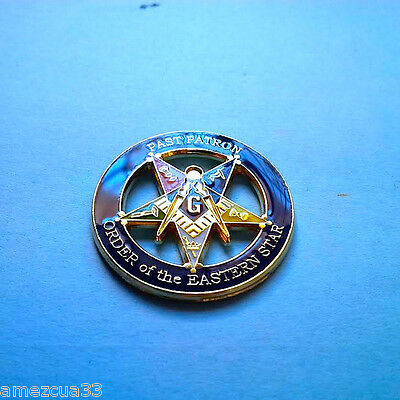 Large OES Past Patron Lapel Pin