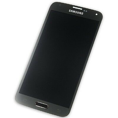 Original Samsung Display + Touchscreen Black Für Galaxy S5 G900F Ersatzdisplay