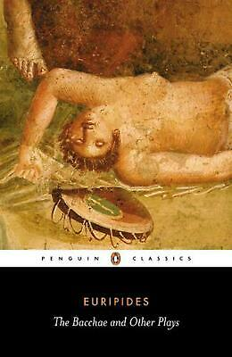 The Bacchae and Other Plays by Euripides (English) Paperback Book Free Shipping!