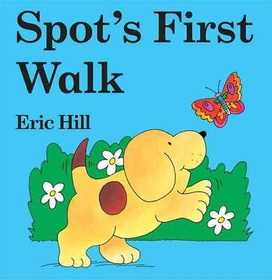 Spot's First Walk by Eric Hill (English) Board Books Book Free Shipping!