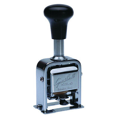 Great Wall Numbering Machine 45 9 Action Black PQ360045