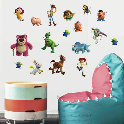 New Toy Story Wall Stickers Kids Room Nursery Vinyl Decal Art Mural Disney Gift