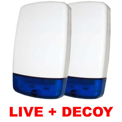 Yale Alarm Live Siren Dummy Bell Boxes Telecommunicating