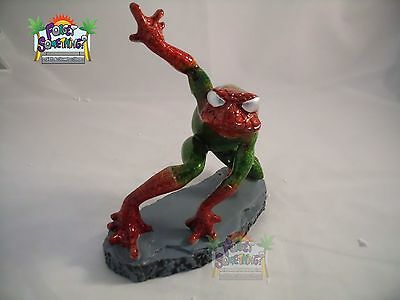 Spider Man Frog Look a Like, Great Detail, Shelf Sitting