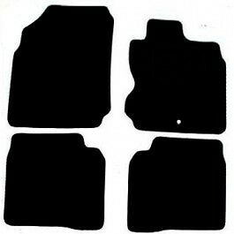 Nissan Note Tailored Car Mats (06 onwards) - Black