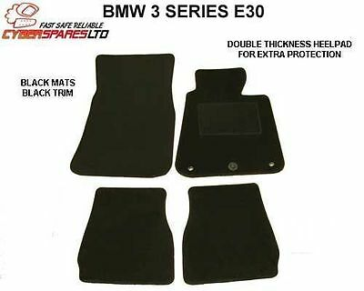 BMW 3 Series E30 Coupe 1982 to 1992 Onwards Fully Tailored Car Mats