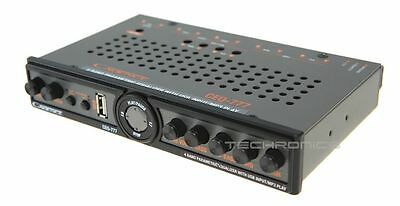 Cadence Ceq-777 +2Yr Wrnty 4 Band Parametric Equalizer With 7 Volt Line Driver