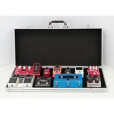 Stagg UPC-688 Guitar Effects Pedal Board Protective Flight Carry Case