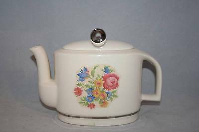 Vintage Harker Pottery Teapot Modern Age   Made In USA